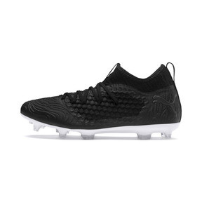 Thumbnail 1 of FUTURE 19.3 NETFIT FG/AG Men's Football Boots, Puma Black-Puma Black-White, medium
