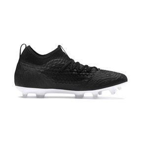 Thumbnail 5 of FUTURE 19.3 NETFIT FG/AG Men's Football Boots, Puma Black-Puma Black-White, medium