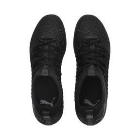 Thumbnail 6 of FUTURE 19.3 NETFIT FG/AG Men's Soccer Cleats, Puma Black-Puma Black-White, medium
