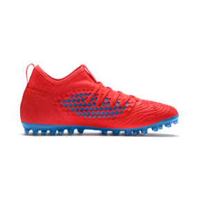 Thumbnail 5 of FUTURE 19.3 NETFIT MG Herren Fußballschuhe, Red Blast-Bleu Azur, medium