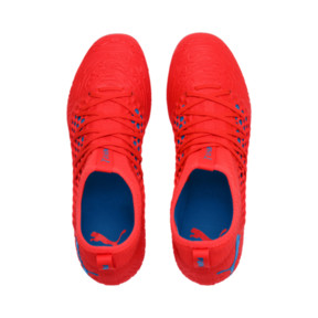 Thumbnail 6 of FUTURE 19.3 NETFIT MG Herren Fußballschuhe, Red Blast-Bleu Azur, medium