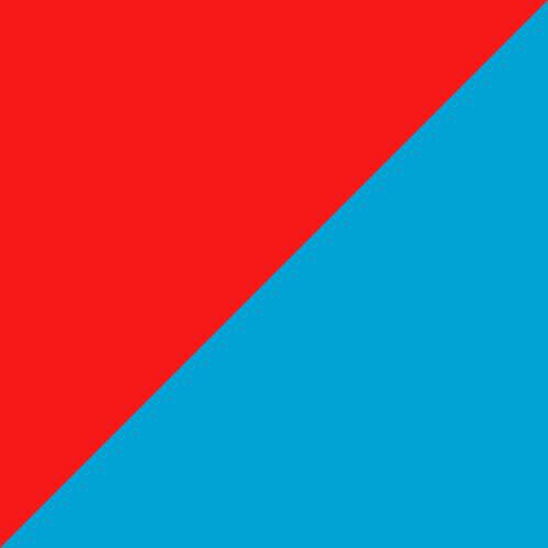 Red Blast-Bleu Azur