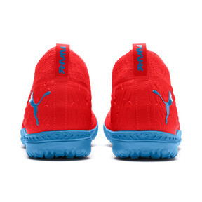 Thumbnail 4 of FUTURE 19.3 NETFIT TT Men's Soccer Shoes, Red Blast-Bleu Azur, medium