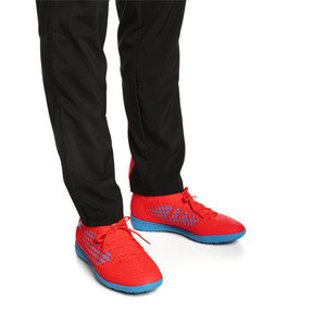 Thumbnail 2 of FUTURE 19.3 NETFIT TT Men's Soccer Shoes, Red Blast-Bleu Azur, medium
