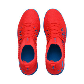 Thumbnail 7 of FUTURE 19.3 NETFIT TT Men's Football Boots, Red Blast-Bleu Azur, medium