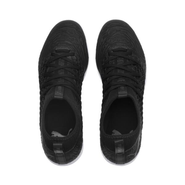 FUTURE 19.3 NETFIT TT Men's Soccer Cleats, Puma Black-Puma Black-White, large