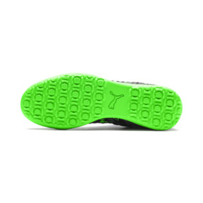 Thumbnail 4 of FUTURE 19.3 NETFIT TT Men's Football Boots, Black-Gray-Green Gecko, medium