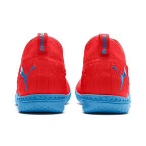 Thumbnail 4 of FUTURE 19.3 NETFIT IT Men's Soccer Shoes, Red Blast-Bleu Azur, medium