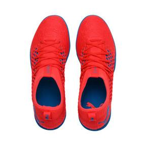 Thumbnail 6 of FUTURE 19.3 NETFIT IT Men's Soccer Shoes, Red Blast-Bleu Azur, medium
