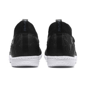 Thumbnail 4 of FUTURE 19.3 NETFIT IT Men's Soccer Shoes, Puma Black-Puma Black-White, medium