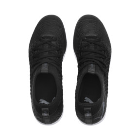 Thumbnail 6 of FUTURE 19.3 NETFIT IT Men's Soccer Shoes, Puma Black-Puma Black-White, medium