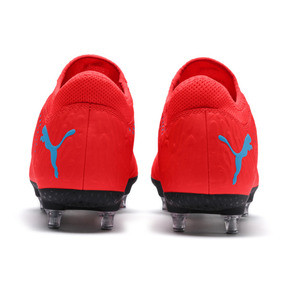 Thumbnail 3 of FUTURE 19.4 SG Men's Football Boots, Red Blast-Bleu Azur, medium
