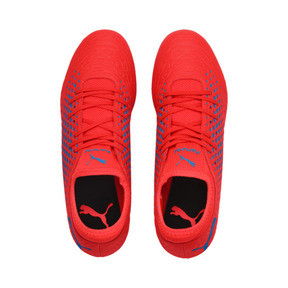 Thumbnail 6 of FUTURE 19.4 SG Men's Football Boots, Red Blast-Bleu Azur, medium