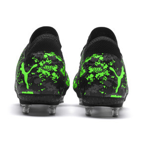 Thumbnail 3 of FUTURE 19.4 SG Herren Fußballschuhe, Black-Gray-Green Gecko, medium