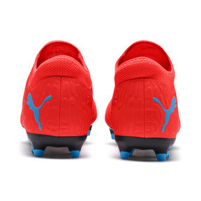 Thumbnail 3 of FUTURE 19.4 FG/AG Herren Fußballschuhe, Red Blast-Bleu Azur, medium