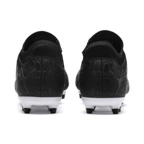 Thumbnail 3 of FUTURE 19.4 FG/AG Men's Football Boots, Puma Black-Puma Black-White, medium