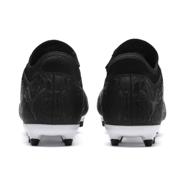 FUTURE 19.4 FG/AG Men's Football Boots, Puma Black-Puma Black-White, large