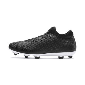 Thumbnail 1 of FUTURE 19.4 FG/AG Men's Football Boots, Puma Black-Puma Black-White, medium