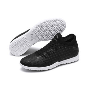 Thumbnail 2 of Chaussure de foot FUTURE 19.4 TT pour homme, Puma Black-Puma Black-White, medium