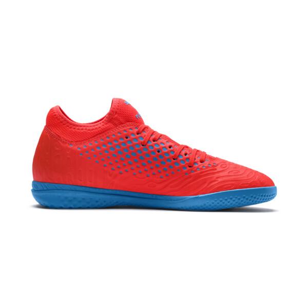 FUTURE 19.4 IT Herren Fußballschuhe, Red Blast-Bleu Azur, large
