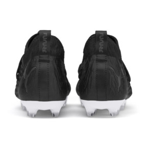 Thumbnail 3 of FUTURE 19.3 NETFIT FG/AG Youth Football Boots, Puma Black-Puma Black-White, medium