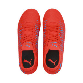 Thumbnail 6 of FUTURE 19.4 FG/AG Youth Football Boots, Red Blast-Bleu Azur, medium
