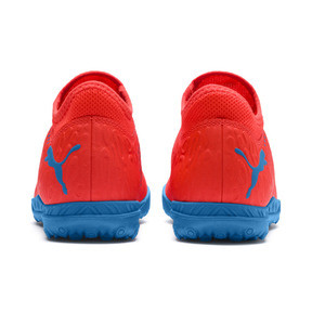 Thumbnail 3 of Chaussure de football FUTURE 19.4 TT Youth, Red Blast-Bleu Azur, medium