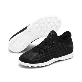 Thumbnail 2 of FUTURE 19.4 TT Soccer Shoes JR, Puma Black-Puma Black-White, medium