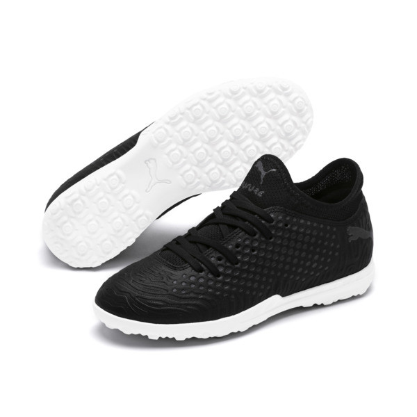 FUTURE 19.4 TT Soccer Shoes JR, Puma Black-Puma Black-White, large
