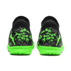 Thumbnail 3 of FUTURE 19.4 TT Soccer Shoes JR, Black-Gray-Green Gecko, medium