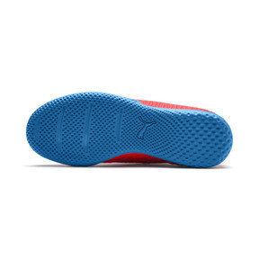 Thumbnail 4 of FUTURE 19.4 IT Boys' Football Boots, Red Blast-Bleu Azur, medium