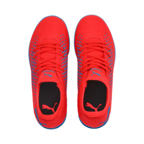 Thumbnail 6 of FUTURE 19.4 IT Boys' Football Boots, Red Blast-Bleu Azur, medium