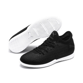Thumbnail 2 of FUTURE 19.4 IT Soccer Shoes JR, Puma Black-Puma Black-White, medium