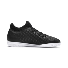 Thumbnail 5 of FUTURE 19.4 IT Soccer Shoes JR, Puma Black-Puma Black-White, medium