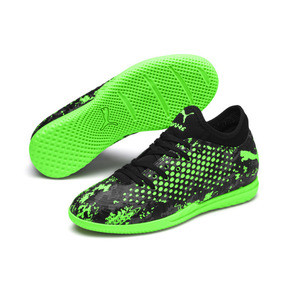 Thumbnail 2 of FUTURE 19.4 IT Boys' Football Boots, Black-Gray-Green Gecko, medium