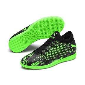 Thumbnail 2 of FUTURE 19.4 IT Soccer Shoes JR, Black-Gray-Green Gecko, medium