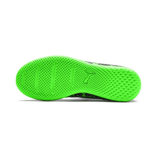 キッズ フューチャー 19.4 インドアトレーニング JR (18-25cm), Black-Gray-Green Gecko, large-JPN