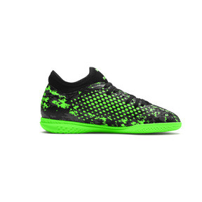 Thumbnail 5 of FUTURE 19.4 IT Boys' Football Boots, Black-Gray-Green Gecko, medium