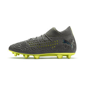 Thumbnail 1 of FUTURE 19.1 Limited Edition FG/AG Men's Football Boots, Puma Aged Silver-Gray-Yellow, medium