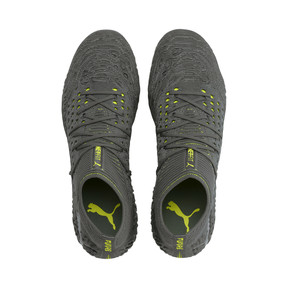 Thumbnail 6 of FUTURE 19.1 Limited Edition FG/AG Men's Football Boots, Puma Aged Silver-Gray-Yellow, medium