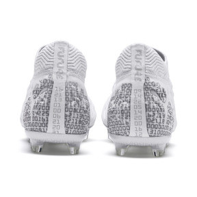 Thumbnail 4 of FUTURE 19.1 Ltd. Ed. FG/AG Men's Soccer Cleats, White-Silver-Gray Violet, medium