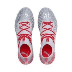 Thumbnail 7 of FUTURE 4.1 NETFIT FG/AG Men's Football Boots, Blue-Nrgy Red-High Risk Red, medium