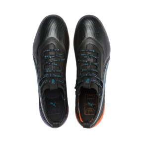 Thumbnail 6 of PUMA ONE 19.1 MVP FG/AG Herren Fußballschuhe, Black-cari sea-purple-orange, medium