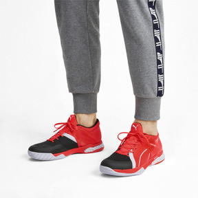 Thumbnail 2 of Explode XT Hybrid 2 Trainers, Black-Puma White-Nrgy Red, medium