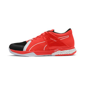 Thumbnail 1 of Explode XT Hybrid 2 Trainers, Black-Puma White-Nrgy Red, medium