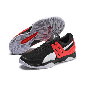 Thumbnail 3 of Boundless Men's Trainers, Black-Nrgy Red-Puma White, medium
