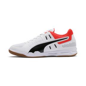 Thumbnail 1 of Auriz Indoor Sport Men's Trainers, White-Black-Nrgy Red-Gum, medium