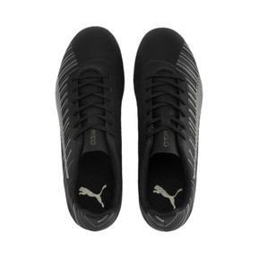 Thumbnail 7 of PUMA ONE 5.4 FG/AG Men's Soccer Cleats, Black-Black-Puma Aged Silver, medium