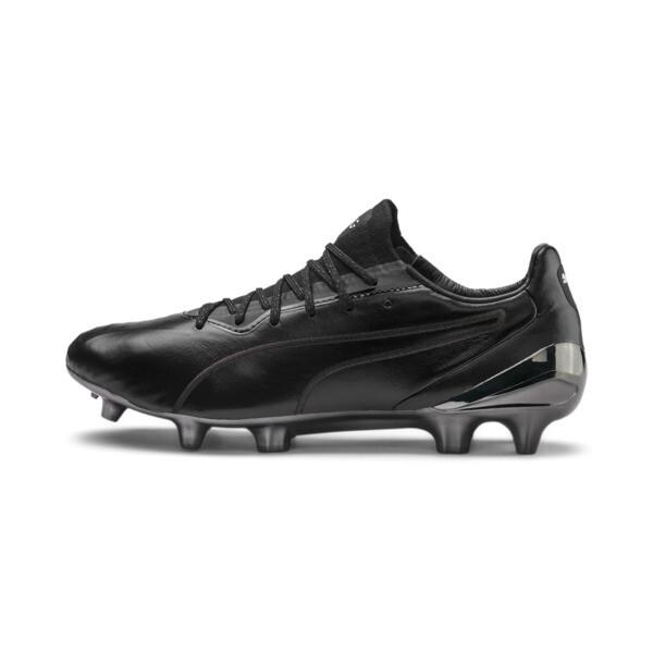 ac9b0ecca KING Platinum Men's FG/AGFootball Boots, Puma Black-Puma White, large
