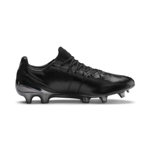 KING Platinum Men's FG/AGFootball Boots, Puma Black-Puma White, large